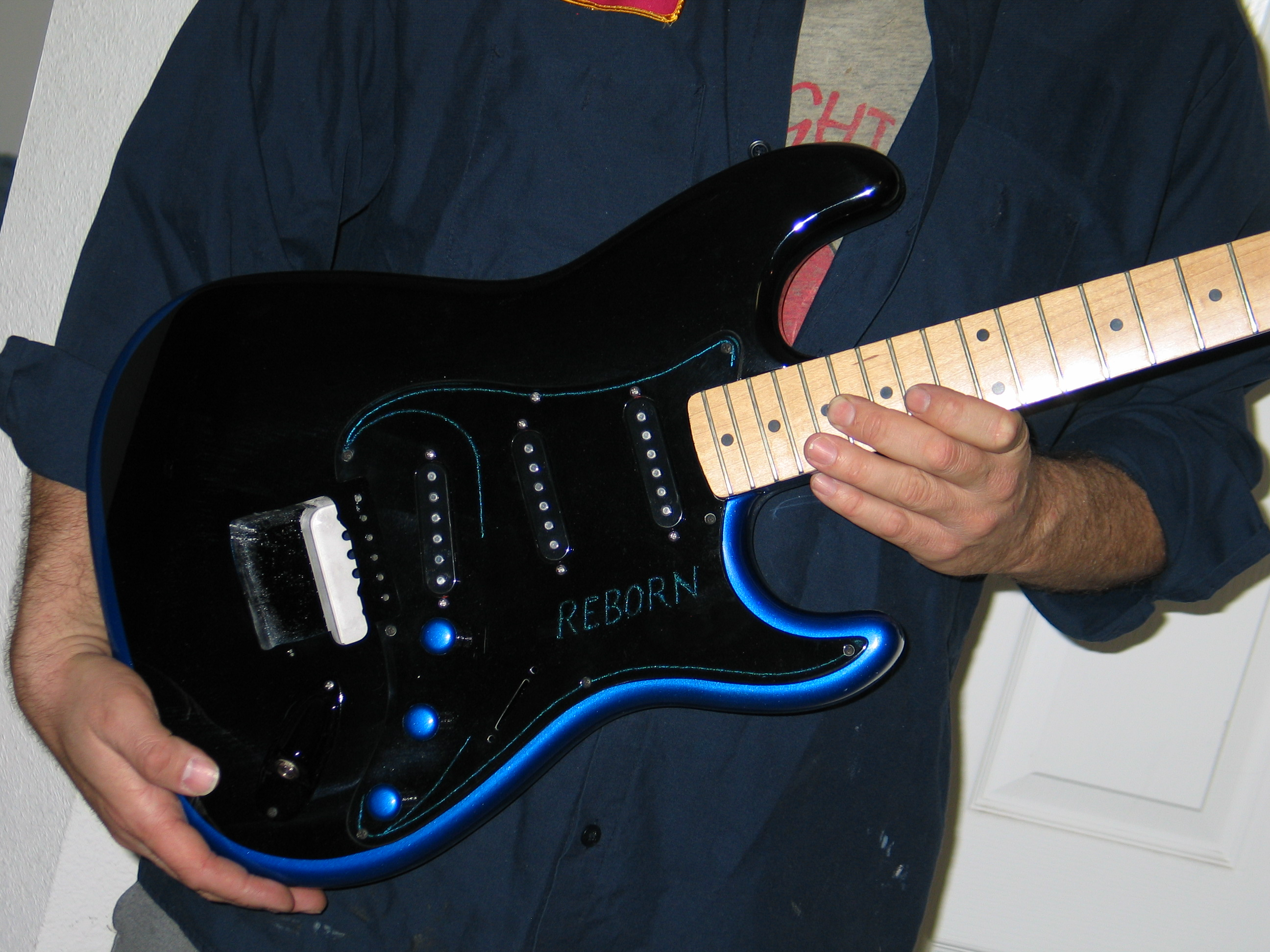 Shawn Wil Band Guitar